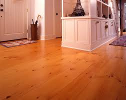 New England Eastern White Pine Wide Plank Flooring Farmhouse Entry
