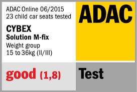 siege auto adac child seat solution m fix test winner