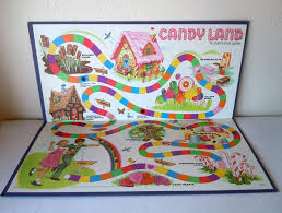 Compare This If You Will To The New Candyland Board Its Just Awful Ken Keseys In Technicolor