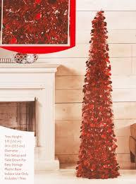 Pop Up Tinsel Tree