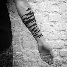 Description Digimatism Abstract Geometric Tattoo