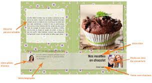 livre de recettes de cuisine cahier de recette créer propre livre de recettes