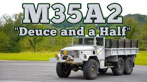 100 Deuce And A Half Truck 1970 M352 And A Regular Car Reviews YouTube