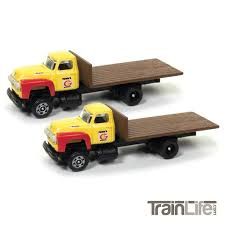 99 N Scale Trucks 1954 Ford Flatbed Truck Funks Hybrids TrainLifecom