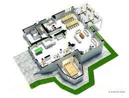 plan de villa luxe moderne maison focus 85 et dactails maisons