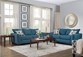 $1 049 99 Bonita Springs 5 Pc Blue Living Room Classic