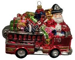 Santa Riding Fire Truck With Gifts Polish Glass Christmas Ornament ... Amazoncom Hallmark Keepsake 2017 Fire Brigade 1979 Ford F700 Personalized Truck On Badge Ornament Occupations Lightup Led Engine Free Customization Youtube 237 Best Christmas Tree Ideas Images On Pinterest Merry Fireman Hat Ornament Refighter Truck Aquarium Decoration 94x35x43 Kids Dumptruck 1929 Chevrolet Collectors 2014 1971 Gmc Home Old World Glass Blown