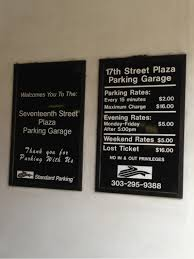 17th Street Plaza Parking Garage Parking in Denver
