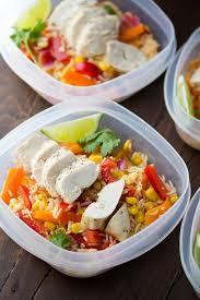 Chicken Fajita Lunch Bowls Make Ahead 3 600x900