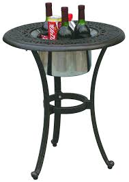 Darlee Patio Furniture Quality by Amazon Com Darlee Elisabeth Cast Aluminum Round End Table With