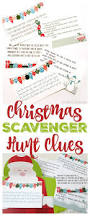 Easy Halloween Scavenger Hunt Clues by Best 25 Christmas Scavenger Hunt Ideas On Pinterest Scavenger