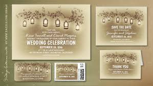 Unique Rustic Outdoor Wedding Invitations