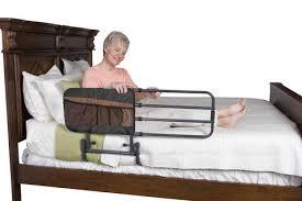 stander ez adjust home bed rail length adjustable and folding