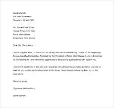 Job rejection email subject line thank you letter after interview