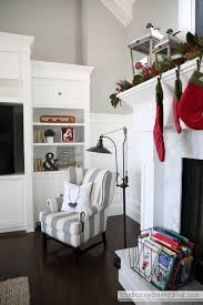 Christmas In The Family Room - The Sunny Side Up Blog Living Room Update And A New Favorite Shop The Sunny Side Up Blog Behind The Design Maddie Pillows Intriguing Story Pottery Barn Another Daily Inspired Glass Bathroom Canisters Cottage Fix Blog Shower Curtain Kids Storage Bench Everyday Loveliness Nursery Reveal Gray White With Diy Console Table Knock Off East Coast Creative Makeover Takeover Brings New Life To Larkin Street Remodelaholic Update Dome Ceiling Light Faceted Crystals Thanksgiving Dinner By Oslo Vinyl Deluxe Christmas In Family