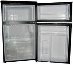 Haier 3 3 cu ft Mini 2 Door Refrigerator Freezer in Stainless