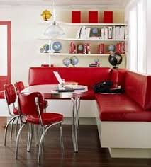 Kitchen Diner Booth Ideas by Retro Kitchen Ideas Diner Booth Chairs Tables Home Diner For