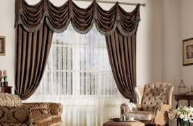 Living Room Curtain Ideas Brown Furniture by Naturally Warm Brown Living Room Curtains Abpho