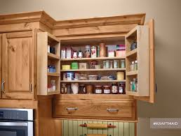 Stand Alone Pantry Closet by Pantry Cabinet Rustic Pantry Cabinet With Kraftmaid Multistorage