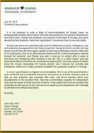 12 graduate school re mendation letters