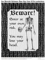 Scary Halloween Coloring Pictures To Print by Scary Halloween Signs Printables U2013 Fun For Halloween