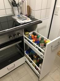 ikea metod küche unterschrank und gewürzschrank