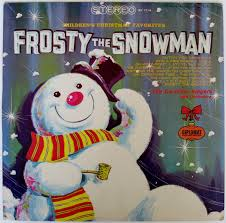 Frosty Snowman White Christmas Tree by The Caroleer Singers And Orchestra Frosty The Snowman The