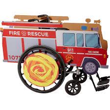100 Fire Trucks Toys Child Wheelchair Truck Costume