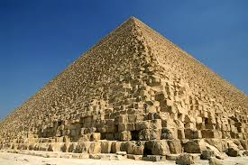 The Great Pyramid Of Giza Was Built Entirely Limestone