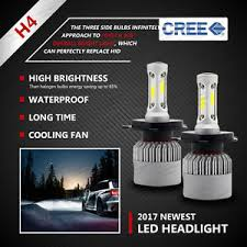 nissan navara d22 d40 h4 led headlight kitglobes bulbs vs hid