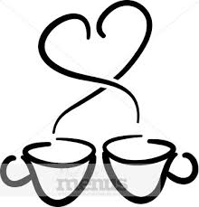 heart coffee cup clipart