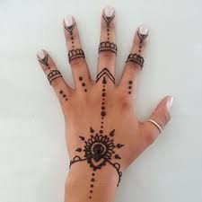 Best 25 Simple Hand Henna Ideas On Pinterest