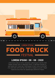 100 Food Truck Websites Truck Festival Poster Vector Image 1799595 StockUnlimited