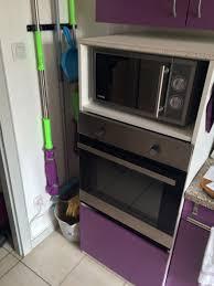 meuble micro onde cuisine colonne de cuisine pour four et micro onde mh home design 3 mar
