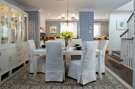 Marvellous Ideas Dining Room Chairs With Skirts 18 Lovely Chair Cover Designs To Refresh The Look Of Every White Upholstered