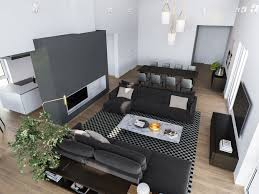 100 Modern Interior Design Colors 3 Homes In Many Shades Of Gray