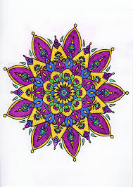 Mandala Holiday From Be Inspired Volume 2 Adult Coloring Book For Stress Relief By Ronni