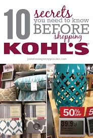 Kohls Christmas Trees Black Friday by 14 Secrets You Need To Know Before Shopping Kohl U0027s Passionate