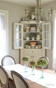 Shabby Chic Dining Room Hutch by 19 Best Dining Room Cabinet Images On Pinterest Corner Hutch