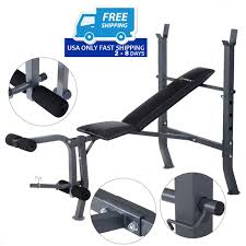 Costway Adjustable Folding Arcshaped Sit Up Bench Gym Home Exercise Fitness Workout