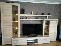 sonoma eiche tv lowboard fernsehwand wohnzimmerschrank