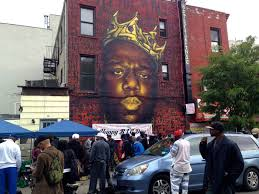 biggie smalls mural in bed stuy may come down brownstoner