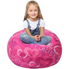 5 STARS UNITED Stuffed Animal Storage Bean Bag - Large Beanbag Chairs For  Kids - 90+ Plush Toys Holder And Organizer For Boys And Girls - 100% Cotton  ... Childrens Bean Bag Chairs Site About Children Kids White Pool Soothing Company Stuffed Animal Chair For Extra Large Empty Beanbag Kid Toy Storage Covers Your Childs Animals And Flash Fniture Oversized Solid Hot Pink Babymoov Transat Dmoo Nid Natural Amazonde Baby Big Comfy Posh With Removable Cover Teens Adults Polyester Cloth Puff Sack Lounger Heritage Toddler Rabbit Fur Teal Easy With Beans Game Gamer Sofa Plush Ultra Soft Bags Memory Foam Beanless Microsuede Filled Yayme Flamingo Girls Size 41 Child Quality Fabric Cute Design 21 Example Amazon Galleryeptune Premium Canvas Stuffie Seat Only Grey Arrows 200l52 Gal Amazoncom