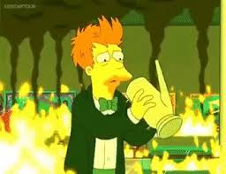 Futurama Frys 100th Cup Of Coffee GIF