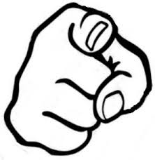 Pointed Finger Clipart