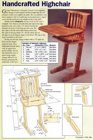 Children's Handcrafted Highchair Plans - Children's ... Fniture Oak Bar Stools Target For Inspiring Unique Dafer Next Wooden Doll High Chair Plans High Chair Plans Childrens And Glass End Table Lamps Height Top Makeover Set Modern Diy Rocking Horse Desk Download Steel Woodarchivist Gorgeous Design Living Room Back Chairs Rooms Woodworking Hi Small Wood Projects Baby Kids Airchilds