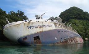 Cruise Ship Sinking Now by Ms World Discoverer Wikipedia
