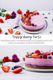 tripple berry kuchen ohne backen