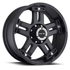 100 8lug Truck Gear 394 Warlord Vision Wheel