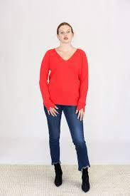 Duffy V Neck Cashmere Sweater